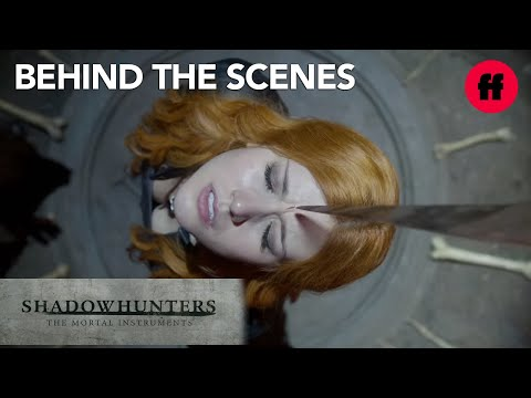 Shadowhunters  Behind the s Season 1: Alan Van Sprang Talks About Valentine  Freeform