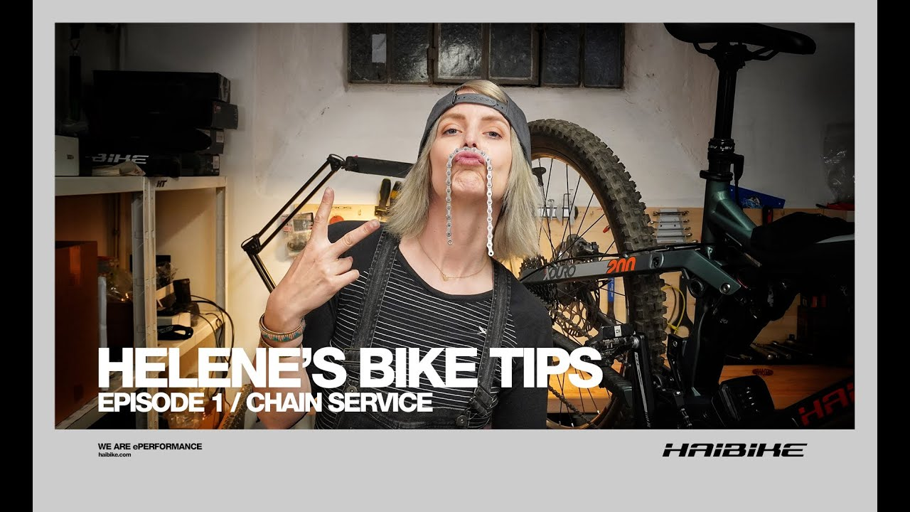 Helene's Bike Tips - Episode 1/ Chain Service