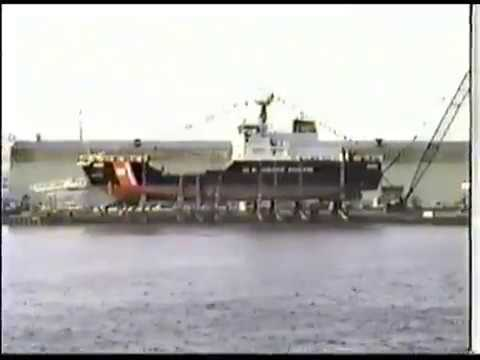 Christening and Launching Ceremony of USCGC Ida Lewis (WLM 551) October 14, 1995