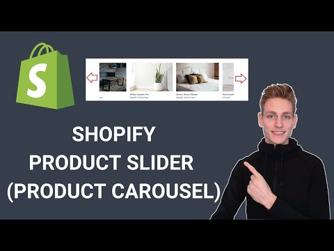 Shopify How To Create A Featured Product Slider