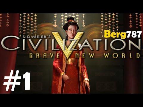 Civilization 5 | Lets Play China | Deity | #1