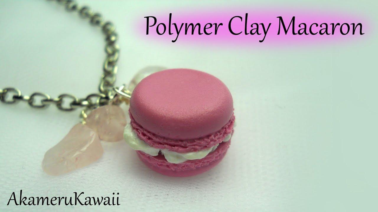 Polymer Clay Charms Keychain Charm Raspberry Sugar Macaron Charm Stitch Marker Necklace Charm Macaron Charm Progress Keeper