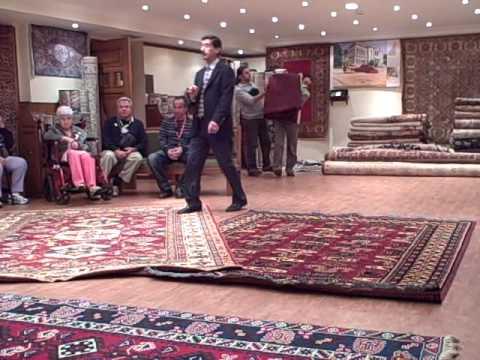 Turkish Carpet Demonstration