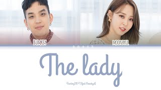 Bumkey (feat. Moonbyul)'the Lady'lyrics(범키 (feat. 문별) 버터플라이 가사)[color Coded Lyrics/han/rom/eng]
