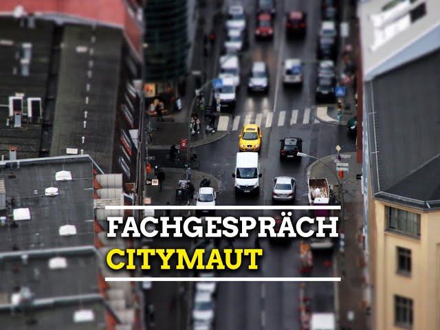 Online-Fachgespräch: Citymaut