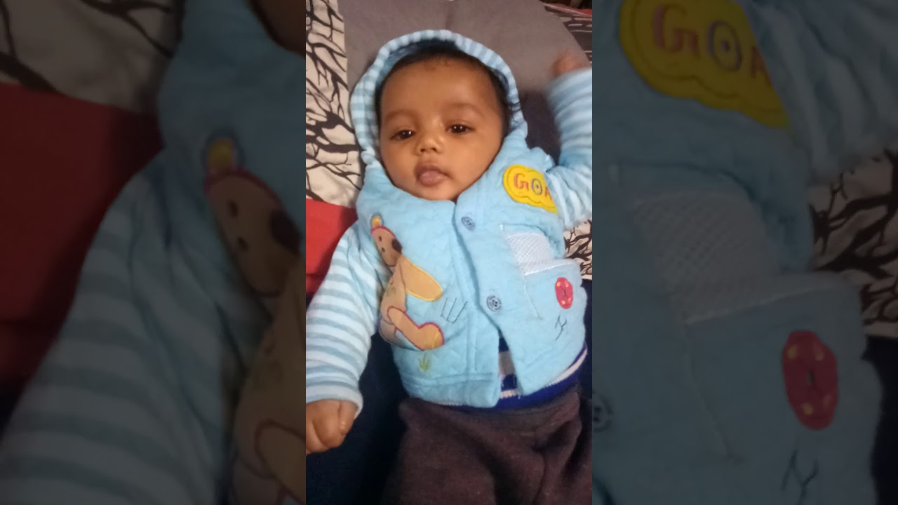 3 Month Old Baby Samar Is Saying I Love You Youtube