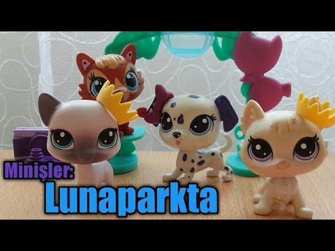 Minişler: Lunaparkta || Lps Karamel Tv