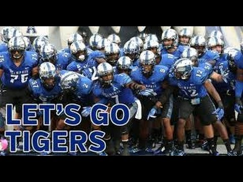 MEMPHIS TIGERS FOOTBALL HYPE 2016-2017 PUMP UP