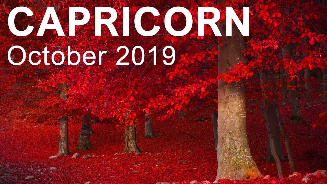 capricorn weekly tarot october 17 2019