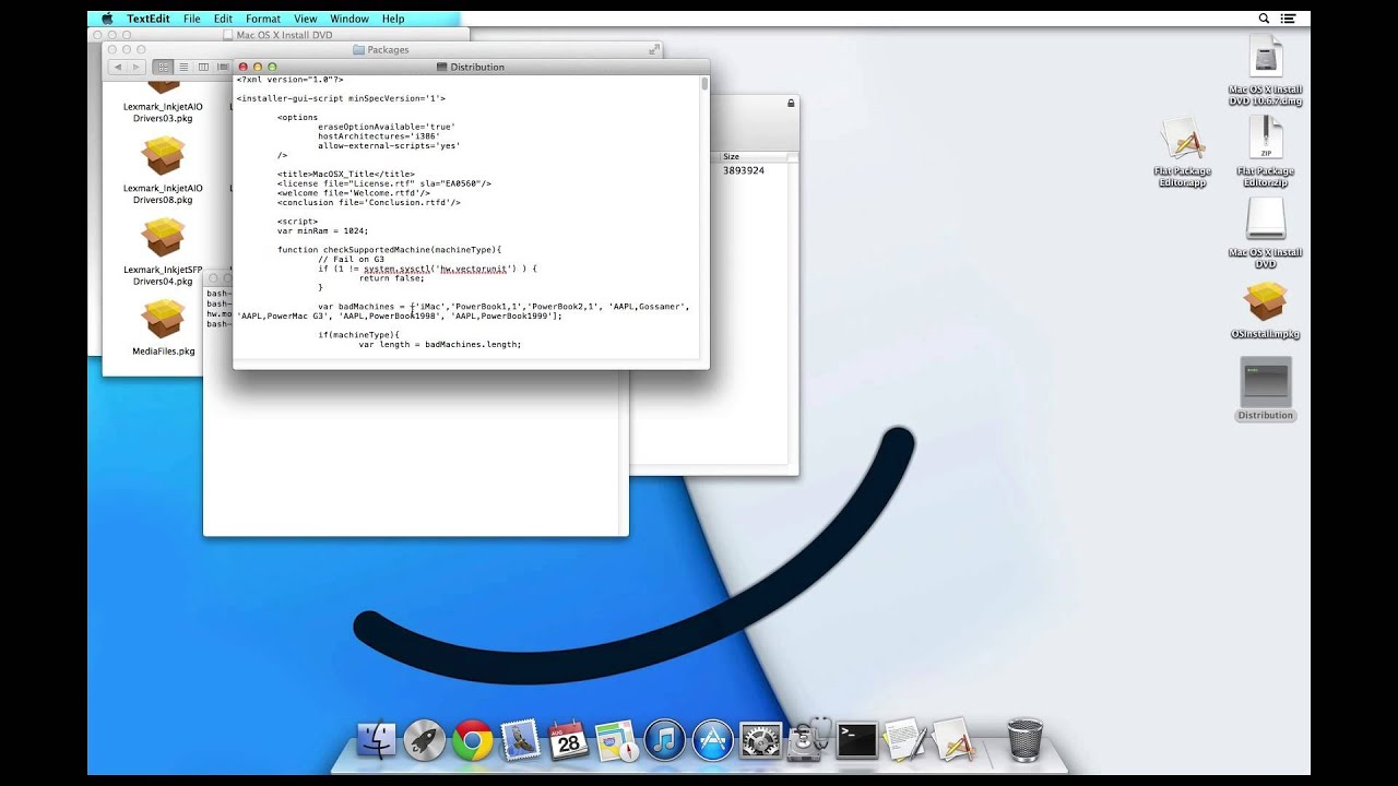 How to install mac os x snow leopard 10 6 7 retail from a for Innenarchitektur mac os x
