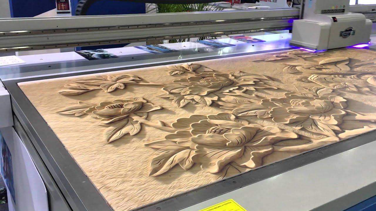 3D uv printer ceramic tile 3d printing machine with high ...