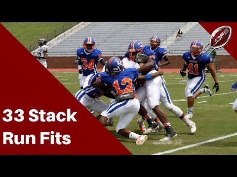 The 33 Stack Defense: Defending the Run | Joe Daniel Football Live