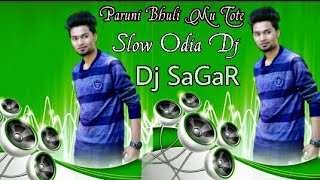 Paruni Bhuli Mu Tate To Prema Dakuchi Mate Dj Song New Odia Song Dj Sagar Kelar