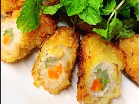 Thịt heo cuộn rau củ – Hướng dẫn nấu ăn – Món ngon mỗi ngày – Món ngon dễ làm