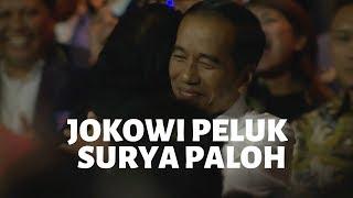 Surya Paloh ke Jokowi: Ingin Saya Peluk Erat....