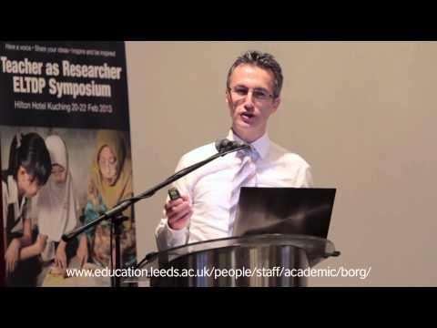 ELTDP Symposium, Keynote Speech, Teacher Engagement with Research, Simon Borg