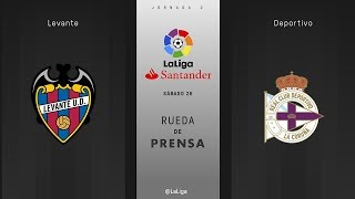 Video Gol Pertandingan Levante vs Deportivo La Coruna