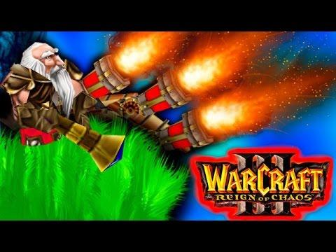 видео: Дикий warcraft 3 #19:  Невидимые мортиры!
