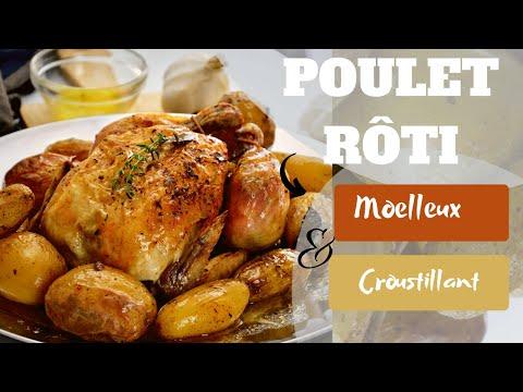 poulet-rÔti,-la-meilleure-recette-(moelleux-et-croustillant)