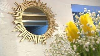 видео Создание декоративного зеркала своими руками