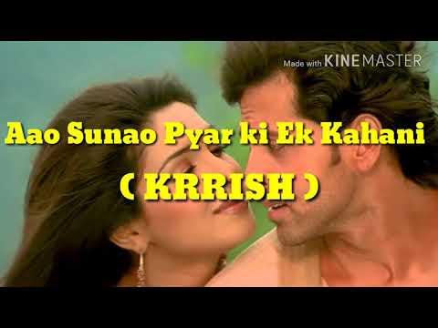 Aao sunao Pyar Ki Ek kahani | Krrish | Guitar Cover