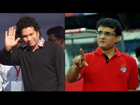 ISL 2014 Final: Tendulkar vs Ganguly - High Voltage Match