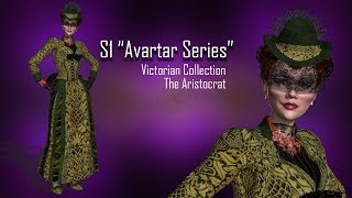 Sckript S1 Avatars , Victorian, Aristocrat Lady