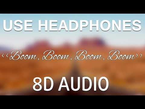 Vengaboys - Boom Boom Boom Boom 8D  🎧