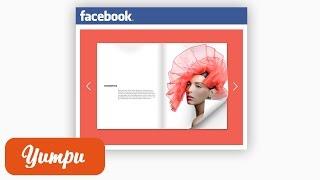 Comment partager un PDF sur Facebook grâce à l'insertion Facebook Yumpu