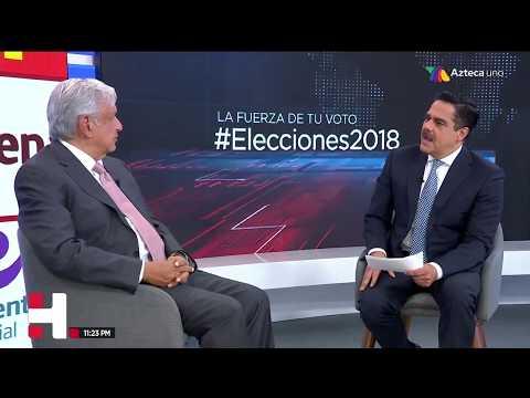 Entrevista a Andrés Manuel López Obrador con Javier Alatorre
