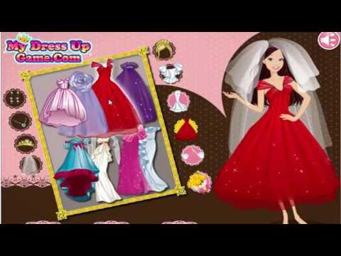 Barbie Gelinlik Giyiyor / Barbie Oyunu Oynadık