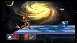 PC用アクションゲーム『Smash Flash2』のプレイ動画です。 ロボットVSパ...