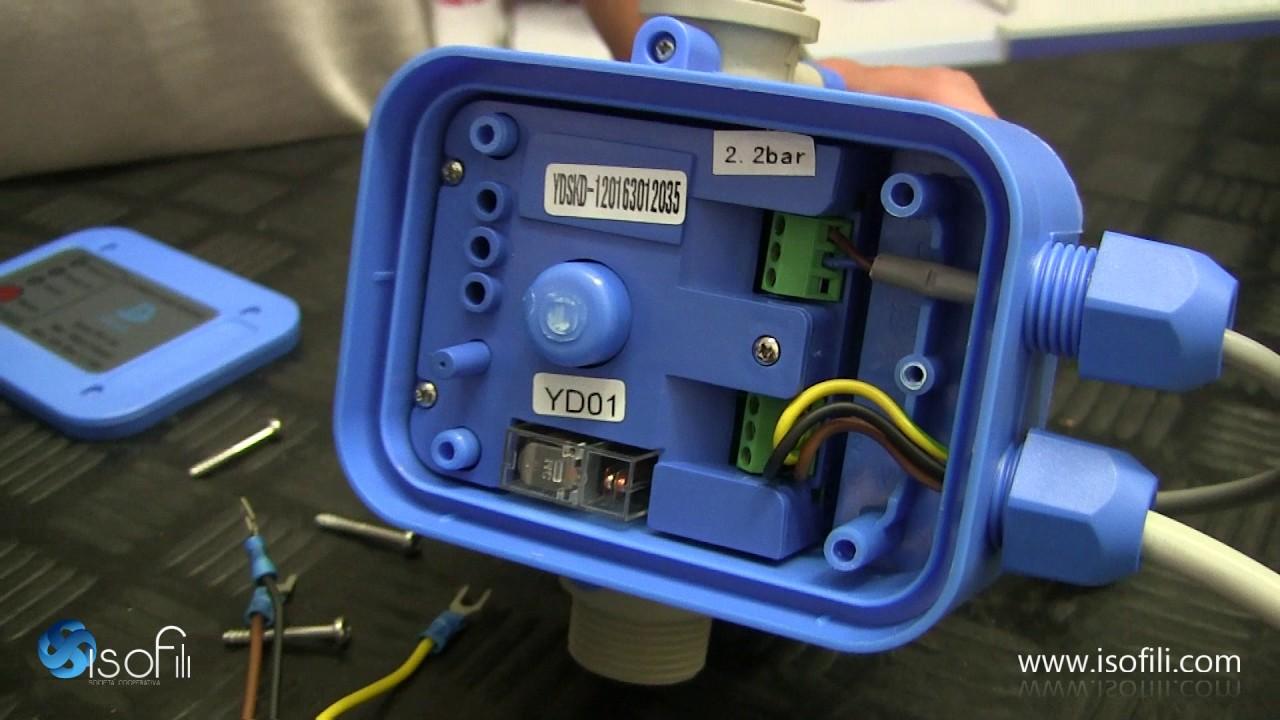 Schema Elettrico Pompa Sommersa Pozzo : Press control funzionamento e installazione youtube
