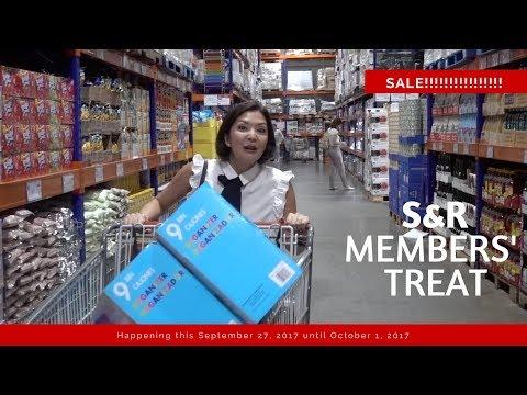 S&R MEMBERS' TREAT 2017 | Cat Arambulo-Antonio