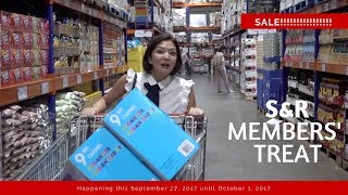 S&R MEMBERS' TREAT 2017 | Cat Arambulo-Antonio