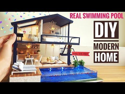 Genuine Robotime DIY Miniature Dollhouse kit Dora/'s Loft