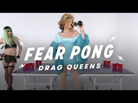 "Drag Queens Play Fear Pong (Jade Dynasty vs. Mark ""Mom"" Finley)"