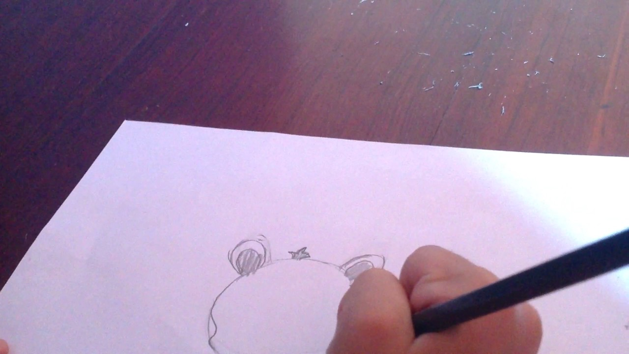 Como Desenhar Uma Onca Pintada Fofa Youtube