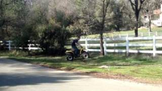 AWESOME QUAD TRICKS filmed in MEADOW VISTA, CALIFORNIA!!!!!!!!!!!!!!!!!