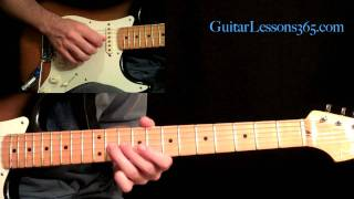 All Along The Watchtower Guitar Lesson Pt.3 - Jimi Hendrix - Solos Two & Three