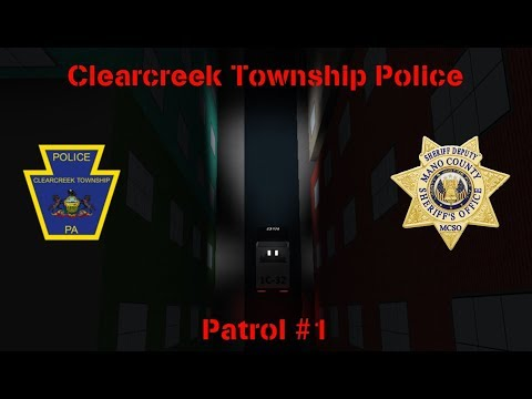 Clearcreek County Patrol #1 || I'm an officer!!