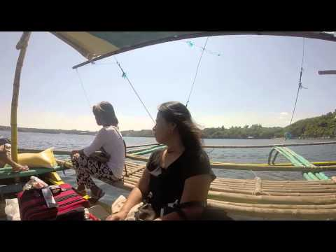 Boat from the Mainland to Santiago Island Pangasinan