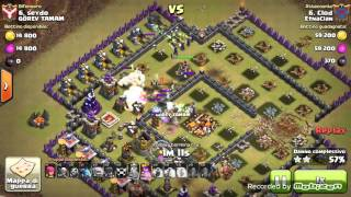 3 STELLE TH10 CON FULL STREGHE - Clash of Clans