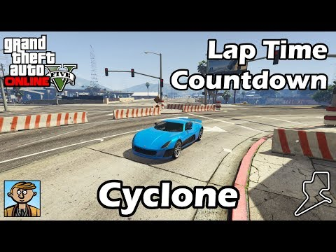 Fastest Supercars (Cyclone) - GTA 5 Best Fully Upgraded Cars Lap Time Countdown
