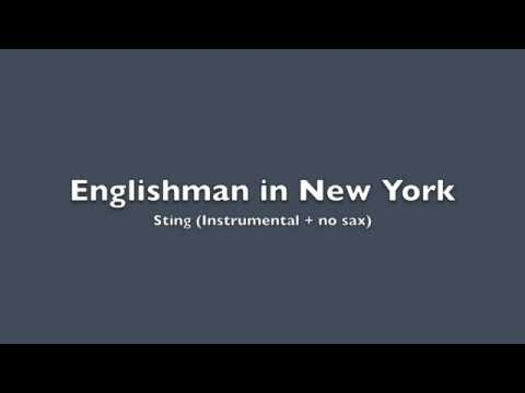 Englishman In New York (instrumental) - Sting