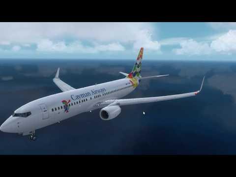 Prepar3D v4 {PMDG 738} Arrival into Grand Cayman [MWCR]