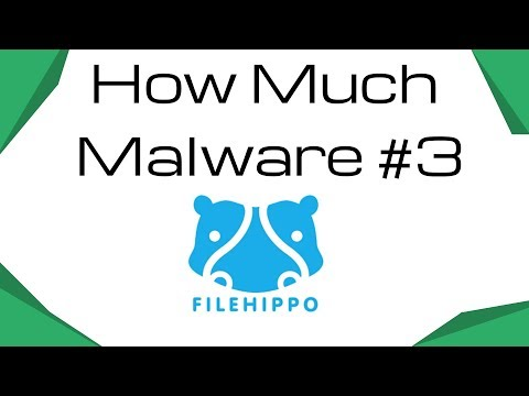 How Much Malware #3 - File Hippo