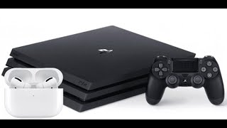 HOW TO CONNECT AIRPODS TO SP4 EASY  , COMO CONECTAR AIRPODS A PS4