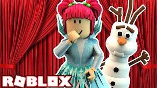 LET IT GO! BECOMING QUEEN ELSA! | Roblox Design It! | Amy Lee33