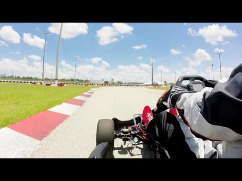Palm Beach Karting CRG Shifter Kart 1st time